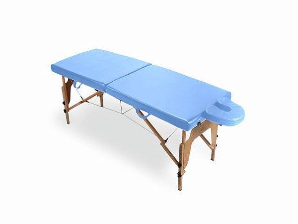 Maca Portátil Arktus - com Espuma Injetada azul claro