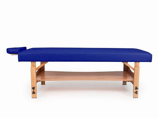 Maca Beauty Spa Fixa - com Regulagem de Altura - Arktus azul escuro