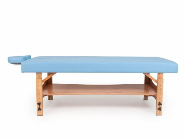 Maca Beauty Spa Fixa - com Regulagem de Altura - Arktus azul claro