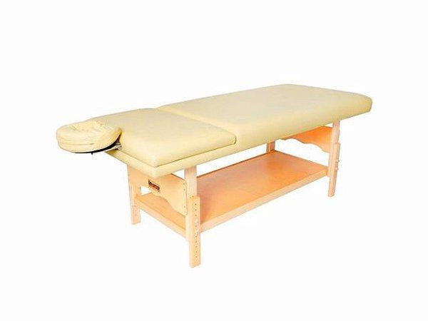Maca De Massagem Reclinável Com Altura Regulável, Orifício Plêiades - Legno bege