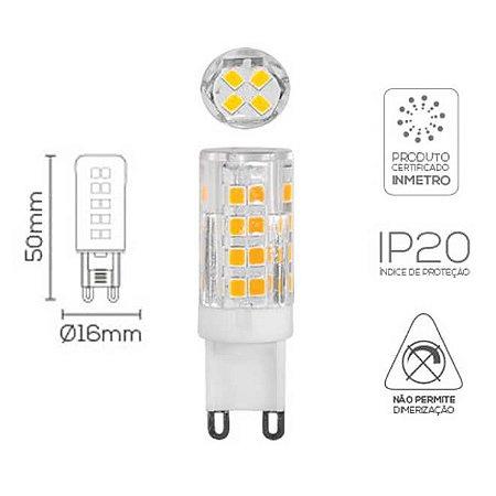 Lâmpada LED Bipino G9 3W 220V 2700K