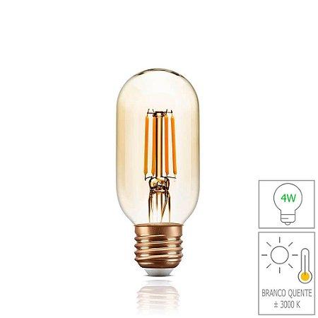 Lâmpada Filamento LED Retrô - T45 - BIVOLT