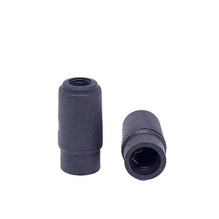 Soquete Pequeno Mignon - Bocal E14 - PRETO