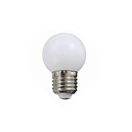 Lâmpada Bolinha LED 1W - 3000K - 127V