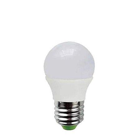 Lâmpada Bolinha LED 5W - 3000K - BIVOLT