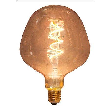 Lâmpada de Filamento LED P130 Spiral 4W
