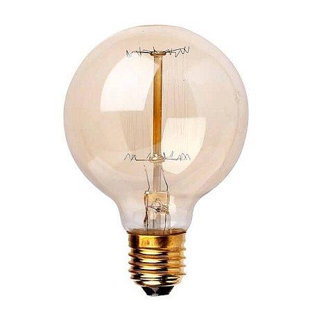 Lâmpada Filamento de Carbono - G80 - 127V
