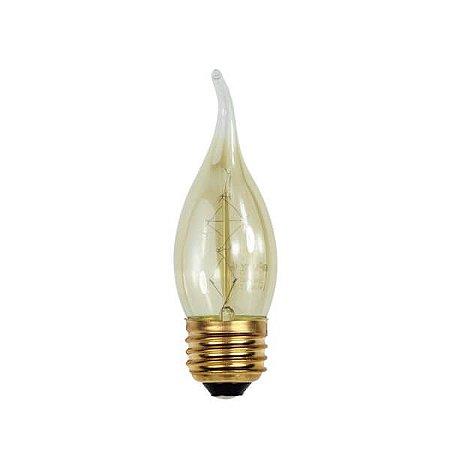 Lâmpada Filamento de Carbono VELA - FC35 - 220V