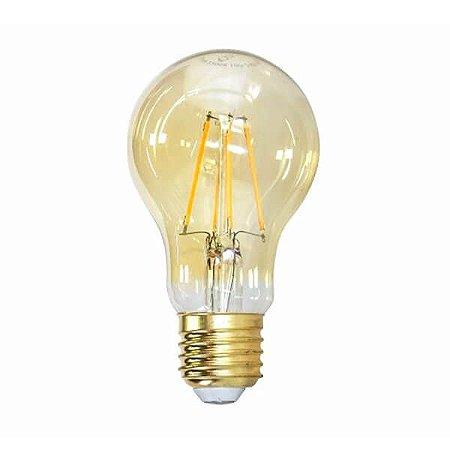 Lâmpada Filamento LED Retrô - A60 - BIVOLT