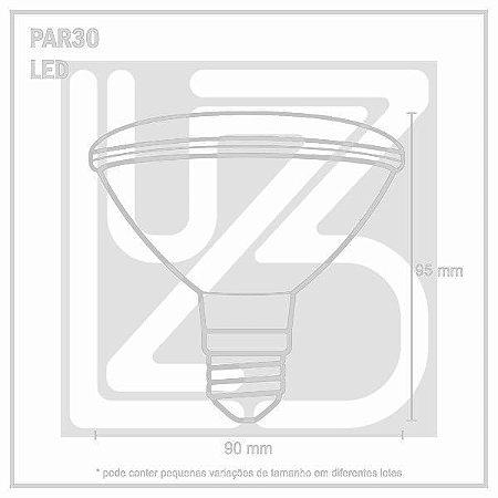 Lâmpada LED PAR 38 - 9,9W - 3000K Bivolt