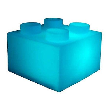 Luminaria Bloco - Azul
