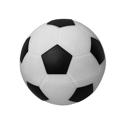 Luminaria Bola de Futebol Preto