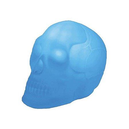Luminaria Caveira - Azul