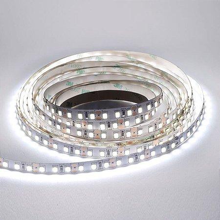 KIT FONTE E FITA LED 5050 24W IP20 - 6000K -12V - 5M