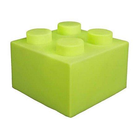 Luminaria Bloco - Verde