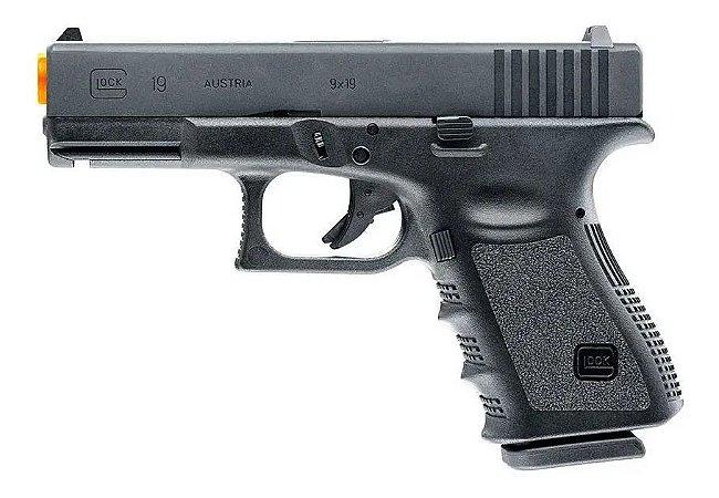 Pistola de Airsoft GBB UMAREX GLOCK G19 GEN3 LICENCIADA Cal .6mm