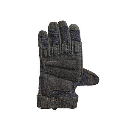 Luva de proteção - Black Eagle - Preto - Dedo Inteiro