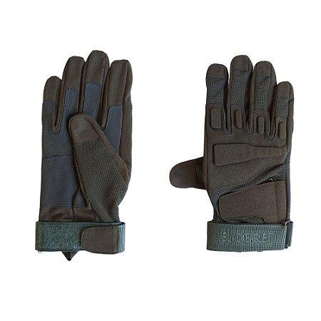 Luva de proteção - Black Eagle - Verde - Dedo Inteiro
