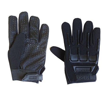 Luva de Proteção Tática - Outdoor Gloves - Preto