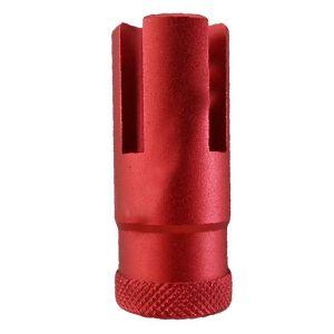 Flash Hider para Rifle AND PARTS 50mm Vermelho R.Esquerda