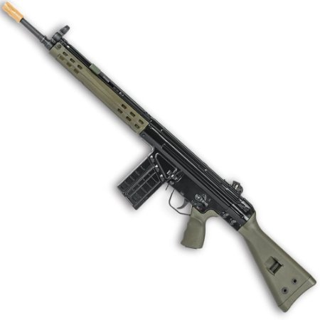Rifle de Airsoft GBBR G3 VFC H&K G3A3 + 1 Mag Extra Cal 6mm