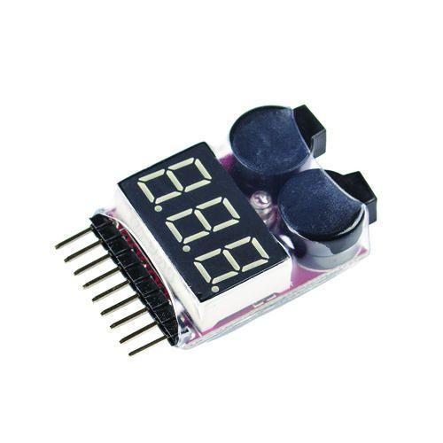 Detector de Voltagem para Bateria LiPo - Life - Lilo
