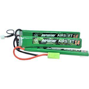 Bateria para Rifle RAPIDFIRE LiPO 11.1V 20C 1400mAh