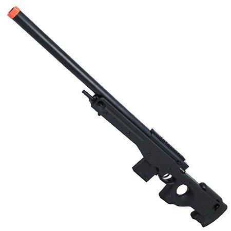 Sniper de Airosft SPRING CYMA CM703 L96 Preto Cal 6mm