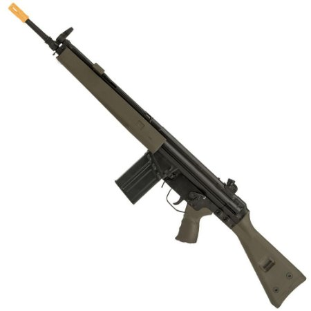 Rifle de Airsoft AEG LCT G3A3 LC-3A3 Verde Cal 6mm