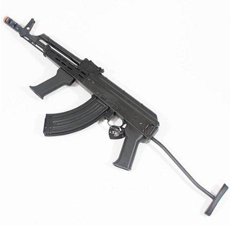 Rifle de Airsoft AEG LCT AMD 65 Preto Cal 6mm