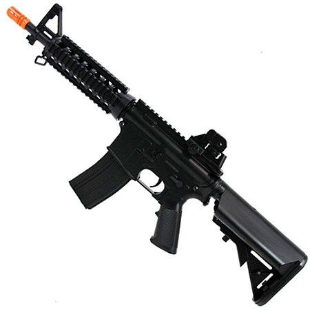 Rifle de Airsoft AEG CYMA CM506 M4a1 RIS Preta Cal .6mm