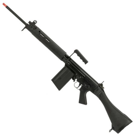 Rifle de Airsoft AEG ARES L1A1 FAL AR-024-P Black Cal 6mm