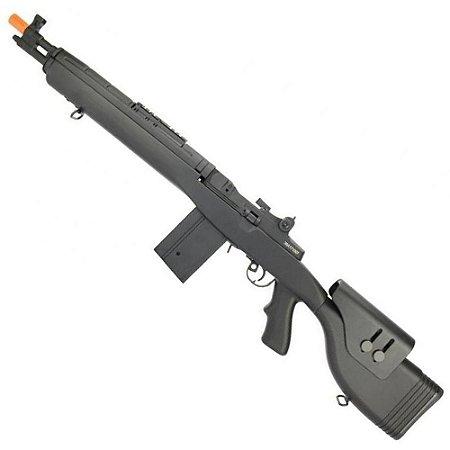 Rifle de Airsoft AEG CYMA CM032F M14 DMR Preto Cal 6mm