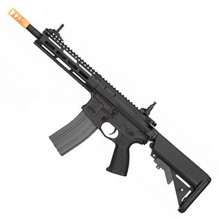Rifle de Airsoft AEG G&G CM16 Raider 2.0 Preto Cal 6mm