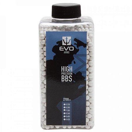 Munição para Airsoft BBs EVO 0.30g 2700UN