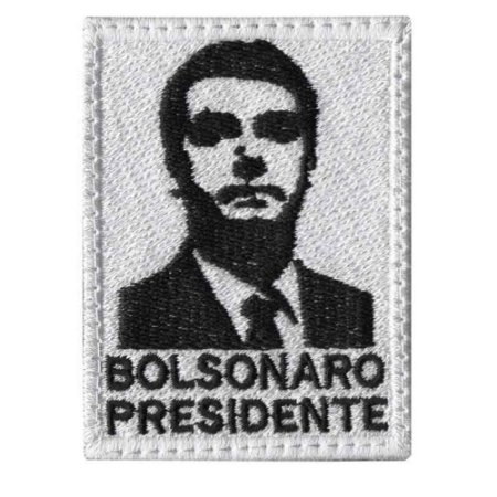 Patch Bordado TALYSMA BORDADOS Bolsonaro FL01