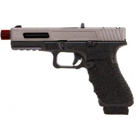 Pistola de Airsoft GBB - SECUTOR Glock 17 Cinza Cal 6mm