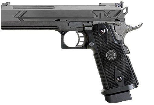 Pistola de Airsoft GBB SRC Hicapa Black Cal .6mm