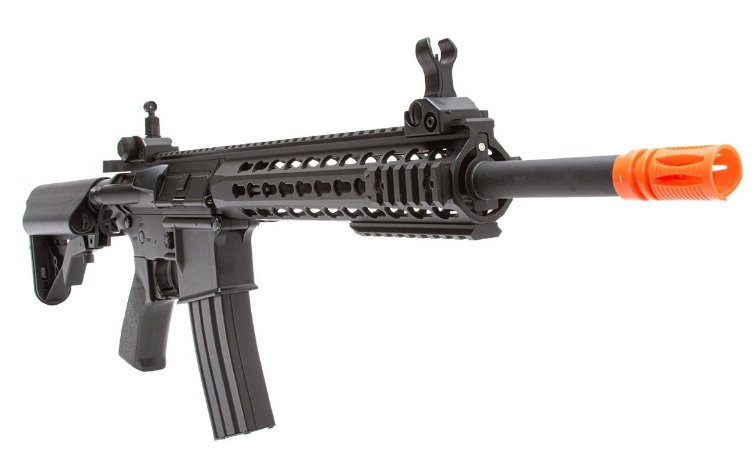Rifle de Airsoft AEG  Cyma  M4 CM515s Preta  Cal.6mm