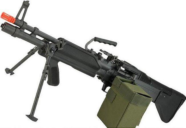 Rifle de Airsoft AEG  A&K  M60 Vietnam  Cal. 6mm