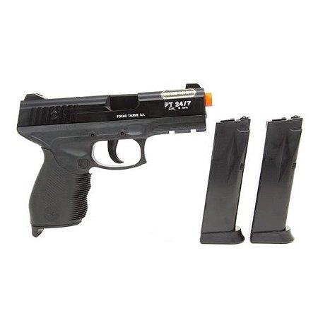 Airsoft Pistola PT 24/7 Taurus Spring Cal 6mm