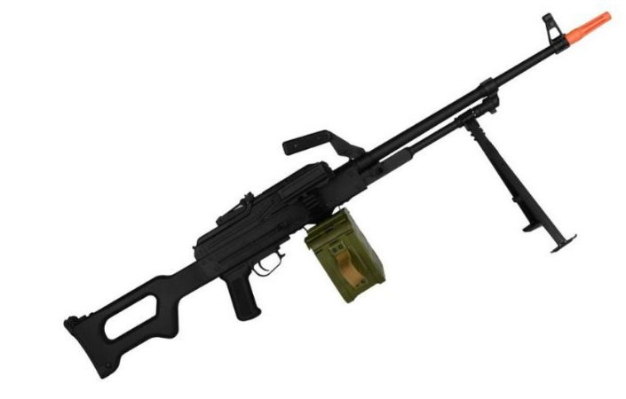 Rifle de Airsoft AEG  A&K  PKM  Cal. 6mm