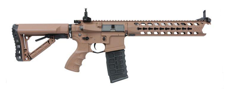 Rifle de Airsoft AEG G&G GC16 Predator Full Metal Coyote Cal .6mm
