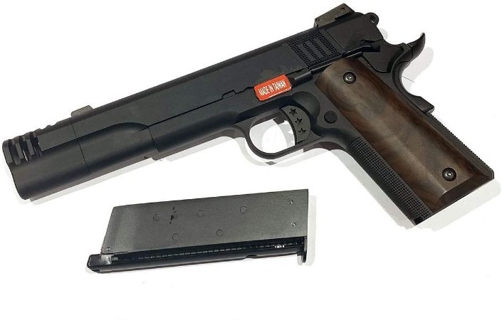 Pistola de Airsoft GBB 1911 Armorer Works NE 3102 Cal .6mm