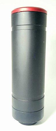 supressor and parts preto 6 furos pequeno rosca esquerda