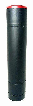 supressor and parts preto 6 furos medio rosca esquerda