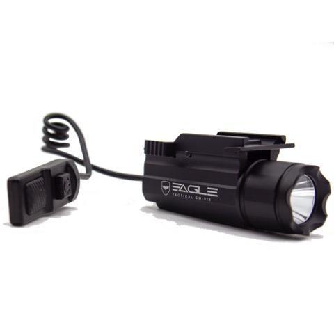 Lanterna LED flash light 300 lumens with remote