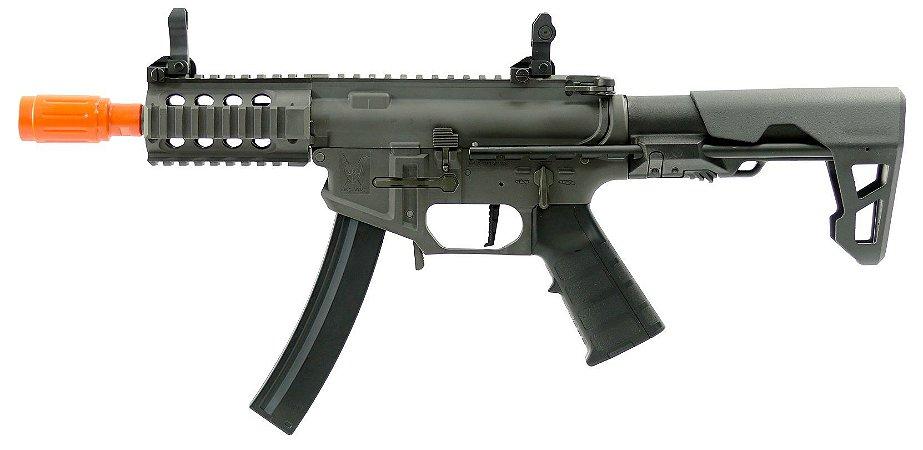 Rifle de Airsoft AEG KING ARMS PDW 9MM AG-229-GY Cal .6mm
