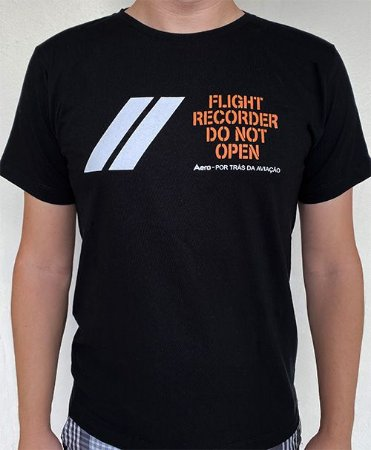 Camiseta manga curta Caixa PRETA - Preta