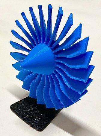 Maquete de Fan impresso em 3D